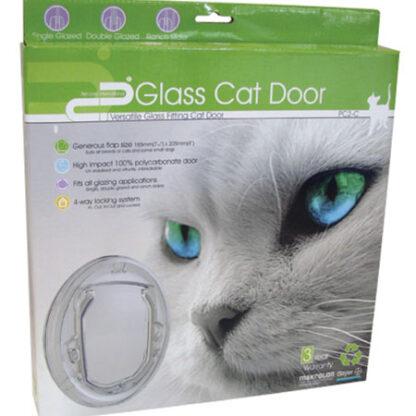 Pet-corp PC2-C clear cat door package